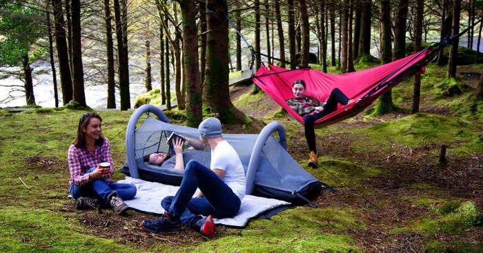 Crua Modus – уже больше, чем просто палатка. /Фото: c1.iggcdn.com