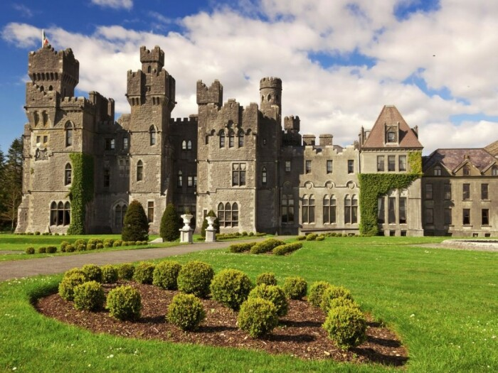 Ashford Castle входит в список ведущих отелей мира. /Фото: scontent-syd2-1.cdninstagram.com