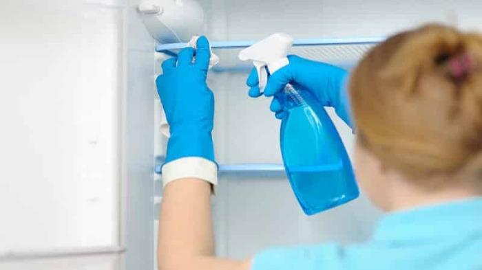 Тщательная уборка начинается с дезинфекции. /Фото: rem.ninja