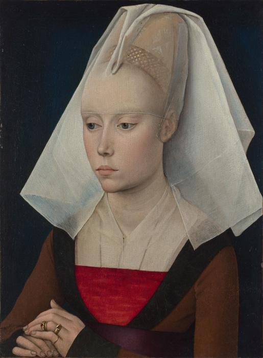 В средневековой Европе был период моды на плоскую грудь. /Фото: scargirl.files.wordpress.com