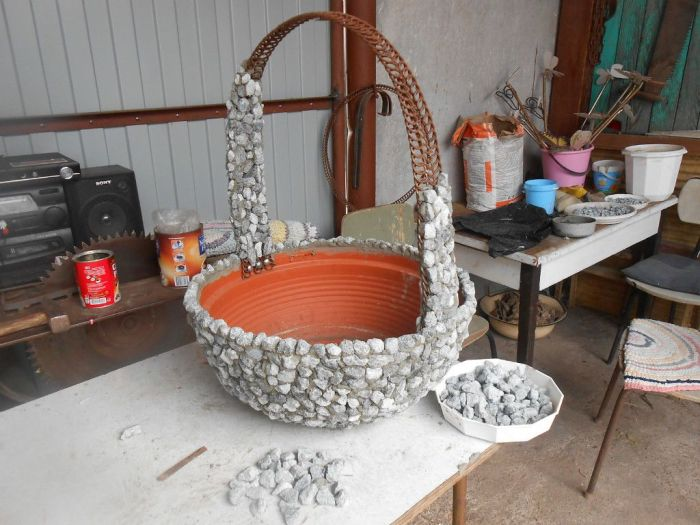 Стильно и очень просто в исполнении. /Фото: i.pinimg.com