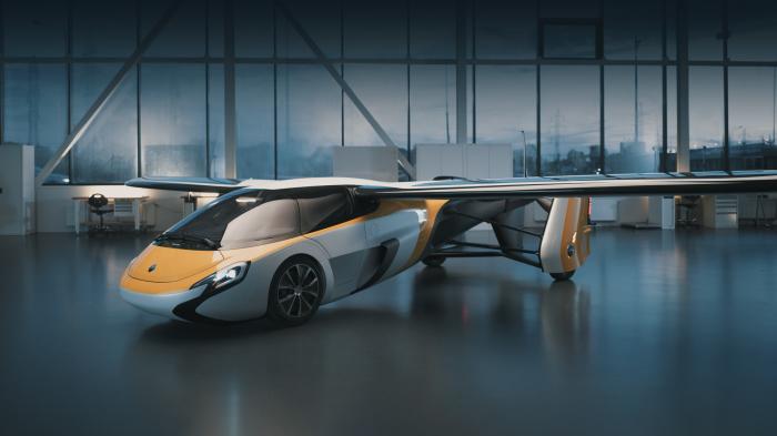 После трансформации родстер превращается в самолет. /Фото: aeromobil.com