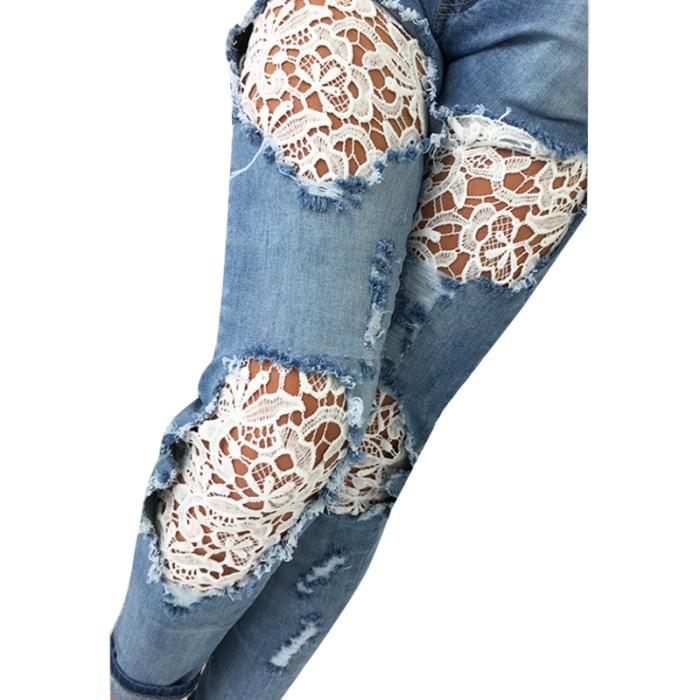 Любые брюки, а особенно джинсы можно запросто обновить собственными усилиями. /Фото: zhurnal-lady.com