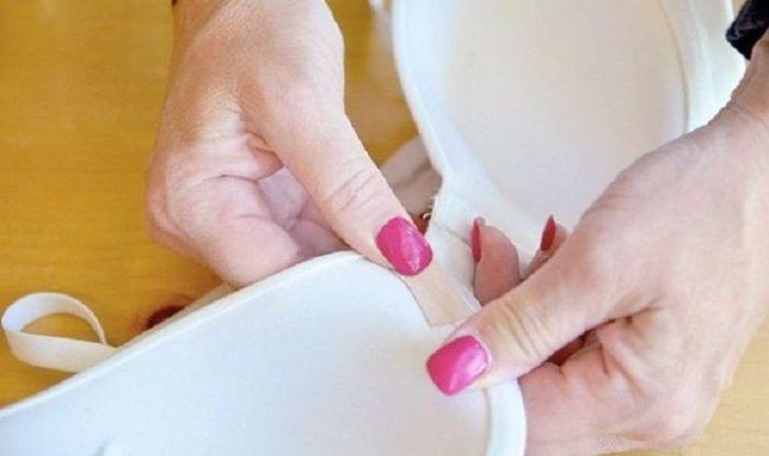Исправить наиболее распространенную проблему бюстгальтера можно в считанные минуты. /Фото: i.pinimg.com