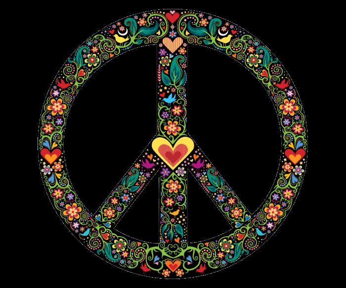 Знак пацифик – международная эмблема противников войны. /Фото: pngimg.com