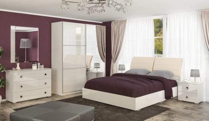 Модульная мебель — оптимальное решение для современной спальни. /Фото: images.ua.prom.st