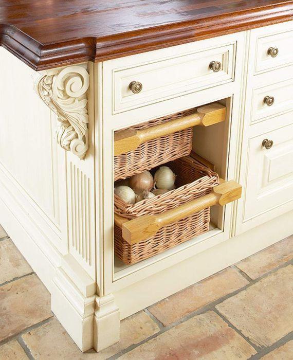 Стильный и практичный элемент декора. /Фото: i.pinimg.com
