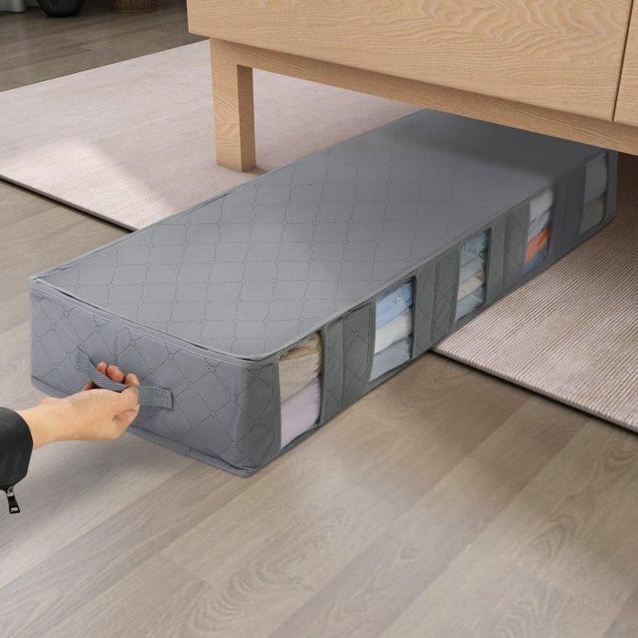 Сумки для хранения - отличное решение для поддержания порядка. /Фото: cdn.shopify.com