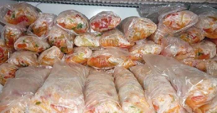 Заморозка продуктов — отличный шаг в пользу экономии времени на кухне. /Фото: bucatarul.tv