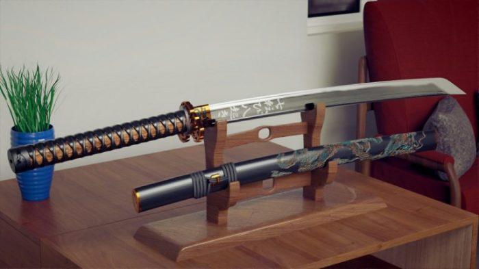У самураев было несколько видов оружия. /Фото: fullsmove.com