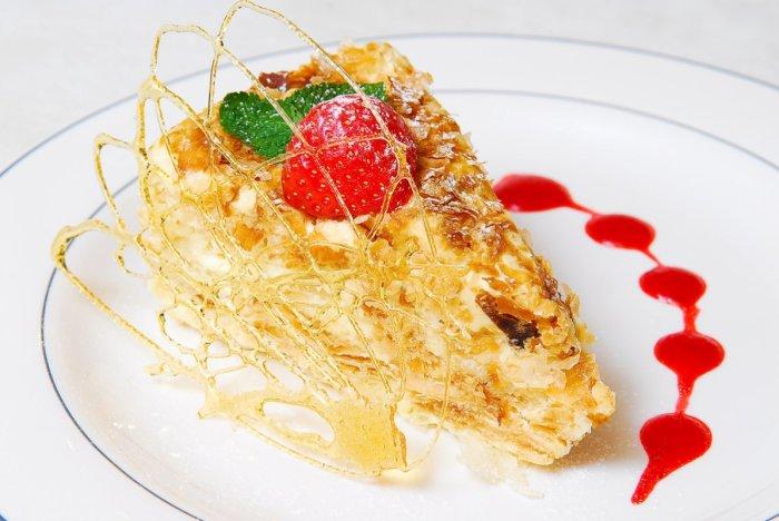 Небольшие кусочки пирога. /Фото: repas.ru