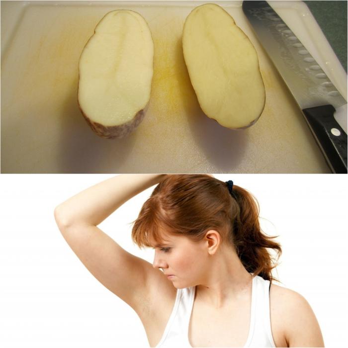Картошка — одна, пятен от пота — ноль.