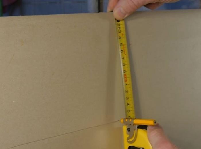 Крайне простой и достаточно эффективный прием для выполнения меток. /Фото: retete-usoare.info
