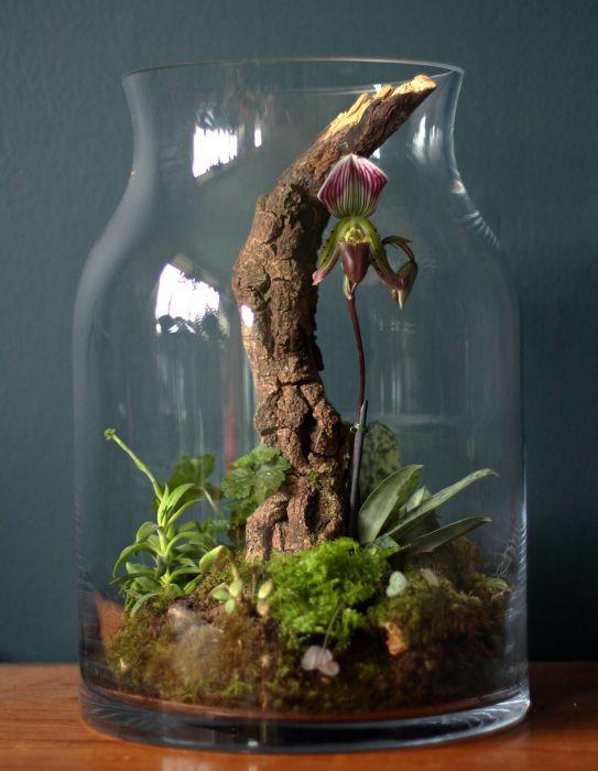 Использование в композиции дерева. /Фото: i.pinimg.com
