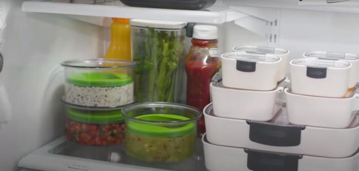 С таким контейнером продукты будут храниться вдвое дольше. /Фото: youtube.com