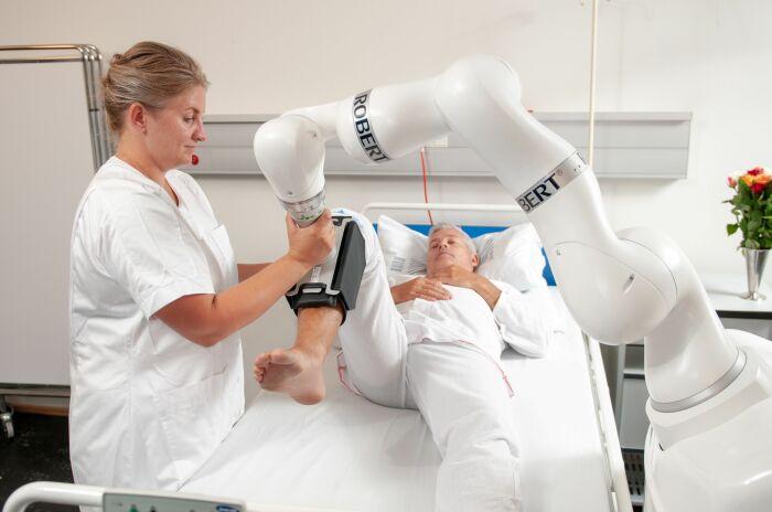 Удивительное изобретение, которое может значительно улучшить обслуживание в больницах. /Фото: kuka.com