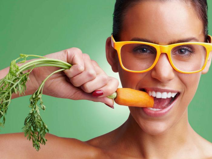 Можно съесть очень много моркови, но для зрения лучше всего следовать принципам сбалансированного питания. /Фото: i24mujer.com