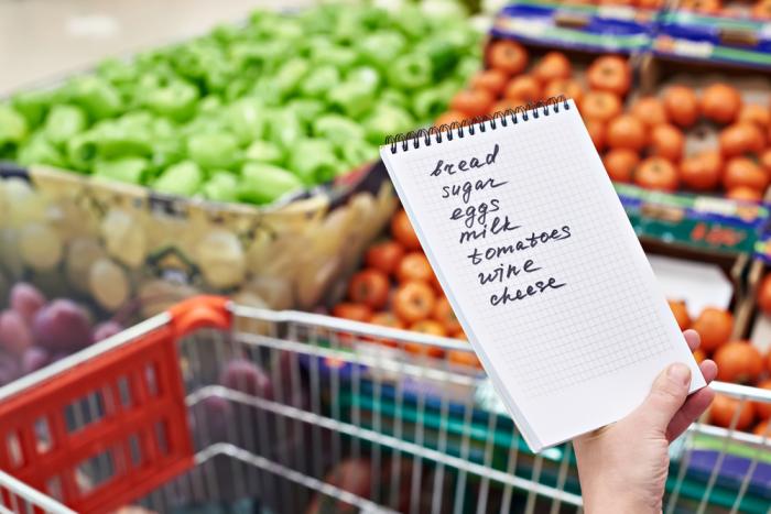 Список покупок – отличный способ экономить время. /Фото: chameleonjohn.com