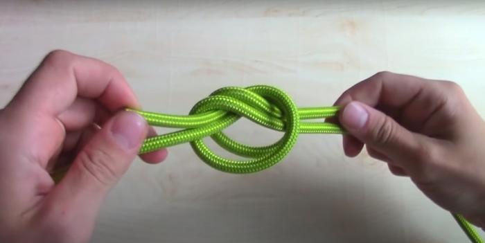 7 практичных и полезных узлов, которые пригодятся в повседневной жизни