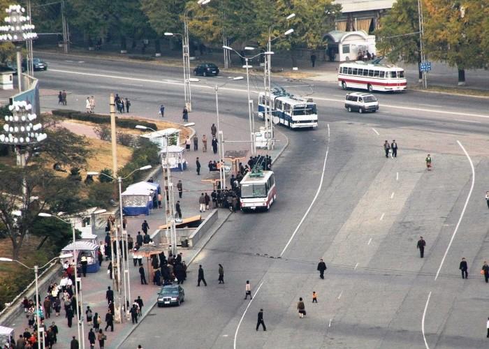Личное средство передвижения — излишняя роскошь для жителей Северной Кореи. /Фото: img.anews.com