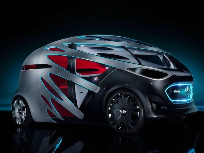 Mercedes-Benz Vision Urbanetic в пассажирском корпусе. /Фото: media.wired.com