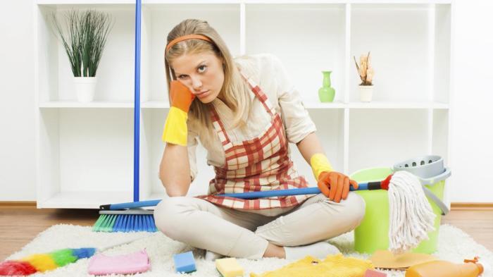 Предугадать реакцию в составе средств для уборки очень сложно. /Фото: gryazee.net