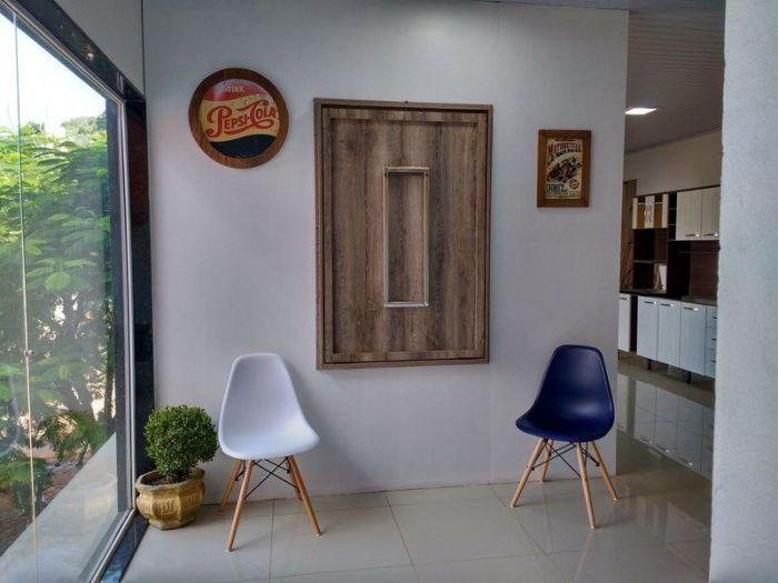 Мебель в собранном виде. /Фото: i.pinimg.com