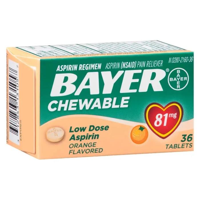 Название «аспирин» пришло от торговой марки Bayer. /Фото: pics.drugstore.com