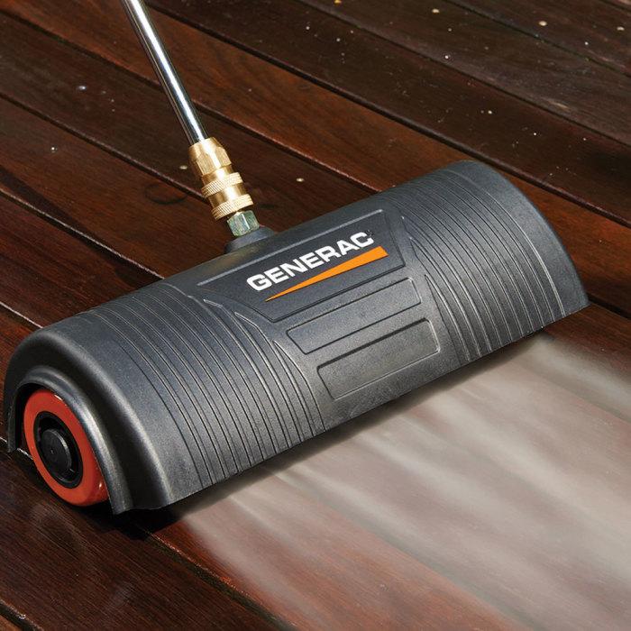 Водяная метла высокой эффективности. /Фото: dam.generac.com