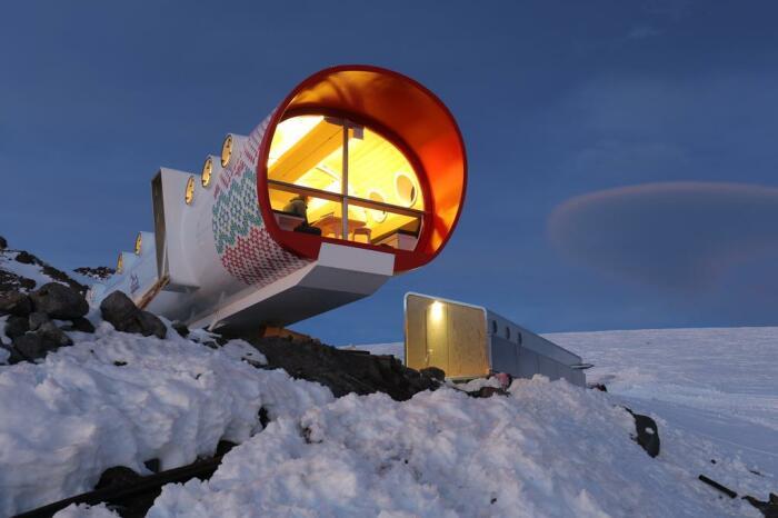 Один из модулей LeapRus Capsule Hotel. /Фото: cf.bstatic.com