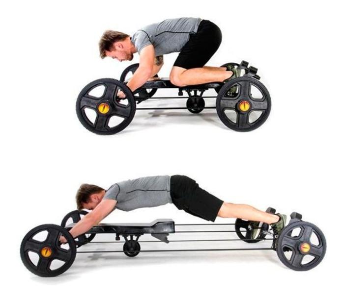 Может показаться забавным, но на самом деле очень энергозатратное и сложное упражнение на все группы мышц. /Фото: mlstatic.com