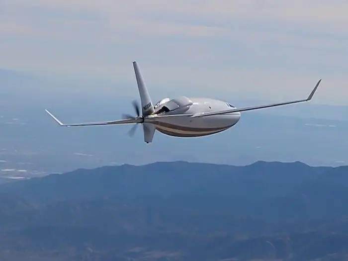 Celera 500L по время испытательного полета. /Фото: i.insider.com