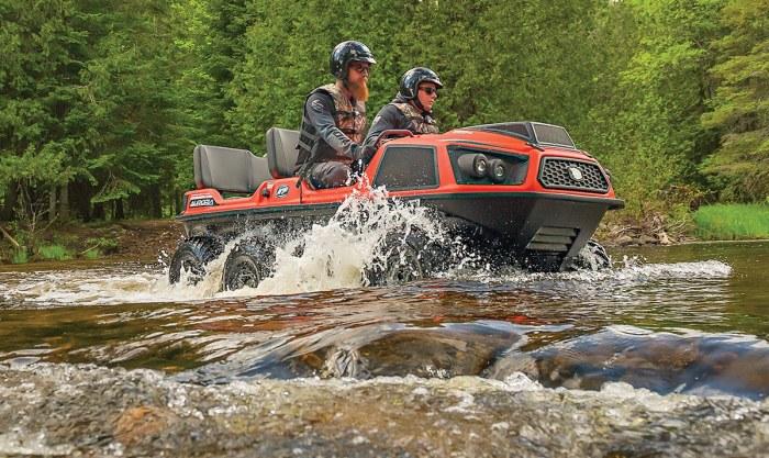 Вездеход Argo надежный помощник при выезде на природу. /Фото: utvactionmag.com