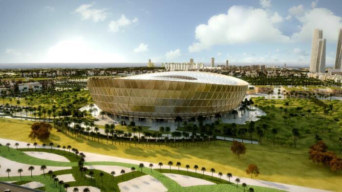 Стадион в Лусаиле, который примет матчи ЧМ-2022. /Фото: as01.epimg.net