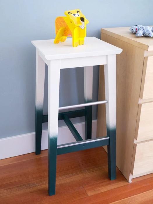 Даже обычная покраска может выглядеть стильно и креативно. /Фото: cdn.instructables.com