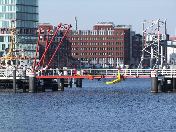 Horn Bridge выглядит как промышленное сооружение, а не мост. /Фото: upload.wikimedia.org