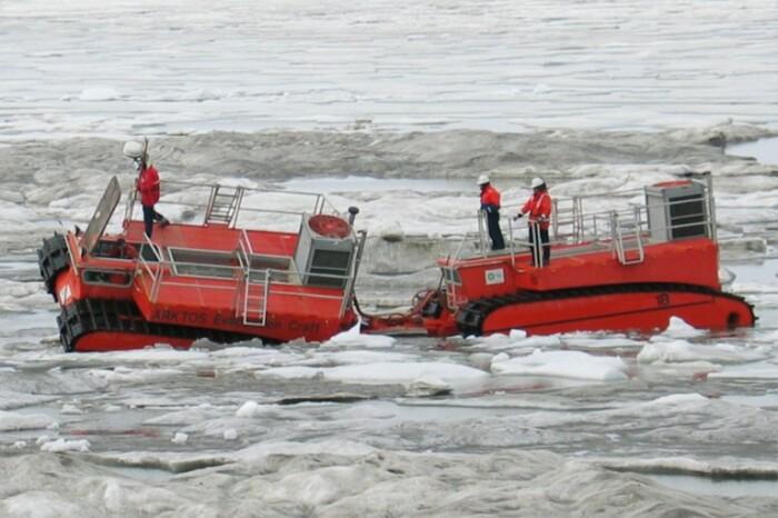 Arktos работает в условиях шуги. /Фото: arktoscraft.com