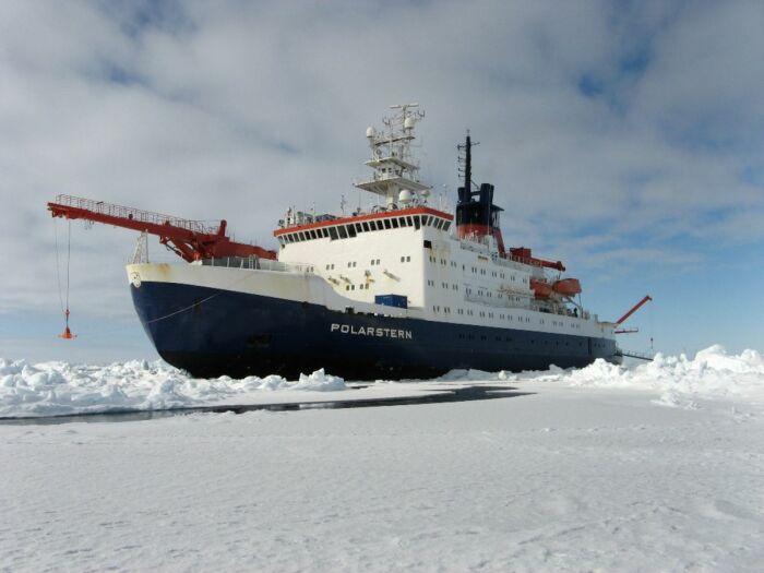 Ледокол Polarstern. /Фото: meereisportal.de