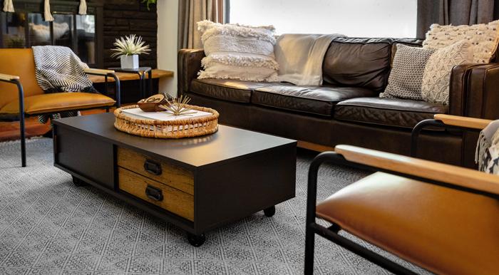 Мебель нужно выбирать не только по красоте, но и по функциональности. /Фото: sauder.com