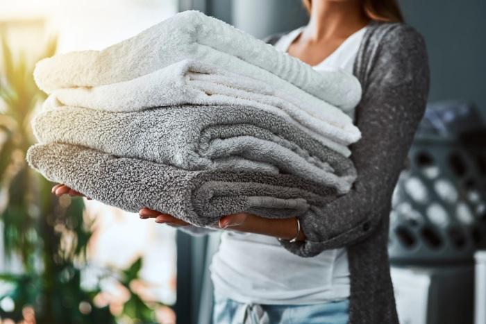 Сода помогает вернуть полотенцам былую пушистость и мягкость. /Фото: washingtonpost.com