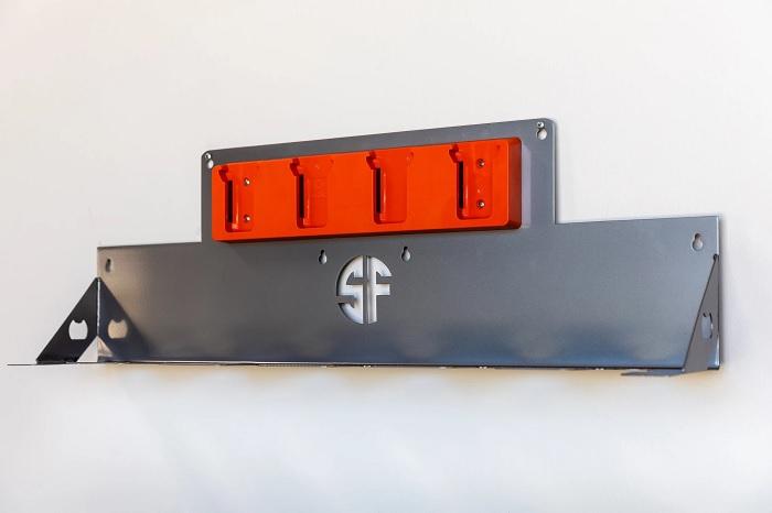 Удобная система для хранения электроинструментов. /Фото: cdn.shopify.com