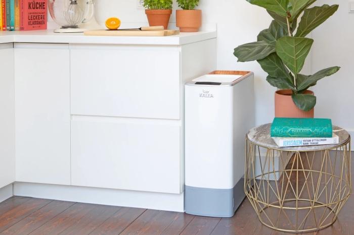 Kalea с пользой утилизирует очистки и пищевые отходы. /Фото: assets.newatlas.com