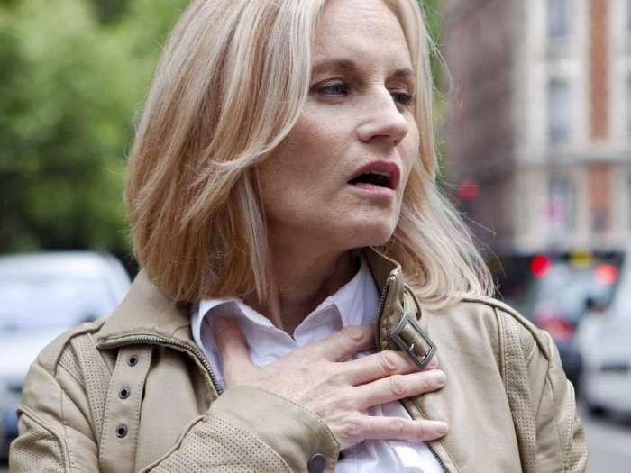 Трудности с дыханием — красноречивый признак возможных проблем с сердцем. /Фото: medic.ua