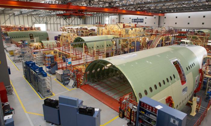 Экскурсия по заводу Airbus помогает узнать больше о самолетах. /Фото: werksfuehrung.de