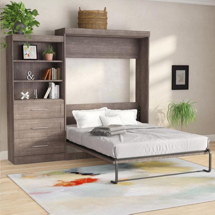 Мебель в разложенном состоянии. /Фото: secure.img1-fg.wfcdn.com
