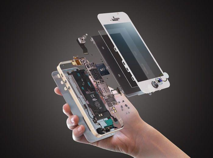 Телефону и планшету не место в ванной комнате. /Фото: i.pinimg.com