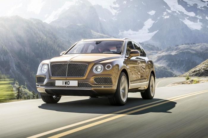 Bentley Bentayga. /Фото: car-images.bauersecure.com