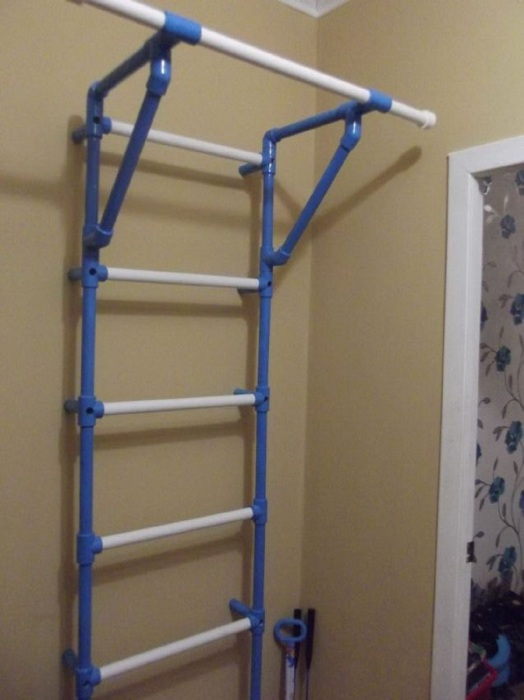 Полезное изобретение для детской комнаты, которое поможет ребенку поддерживать спортивную форму. /Фото: retete-usoare.info