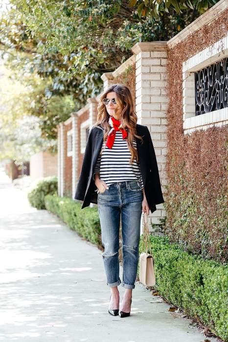 Платок на шее – скромно и со вкусом. /Фото: brightontheday.com