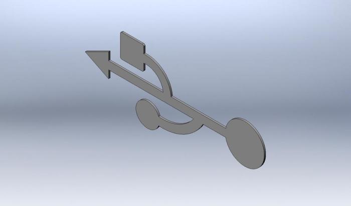 Значок USB оригинален и точно отражает суть интерфейса. /Фото: d2t1xqejof9utc.cloudfront.net
